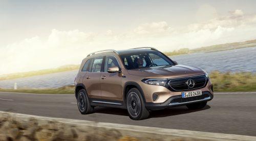 Mercedes desvela el EQB, un nuevo SUV eléctrico de hasta siete plazas