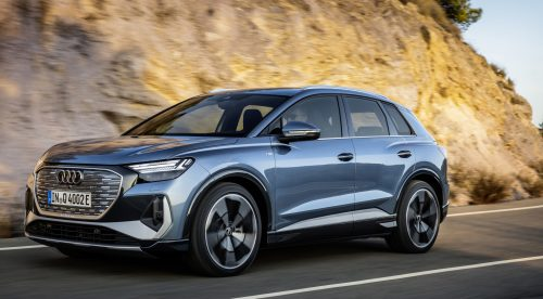 Audi presenta el Q4 e-tron, su SUV eléctrico menos caro