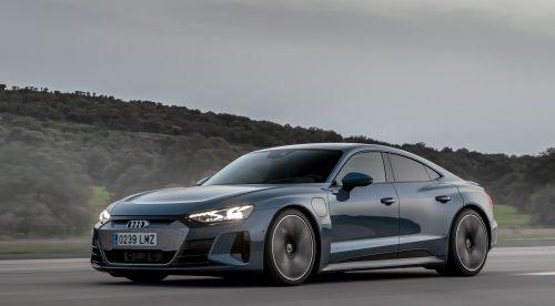 Al volante del Audi e-tron GT: un eléctrico que supera a los gasolina