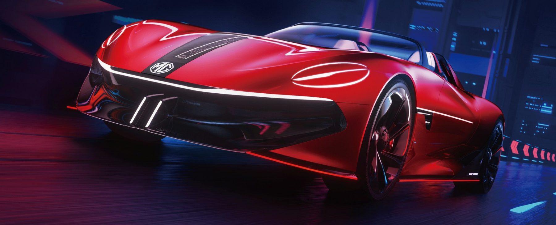 MG Cyberster Concept, una mirada eléctrica al futuro