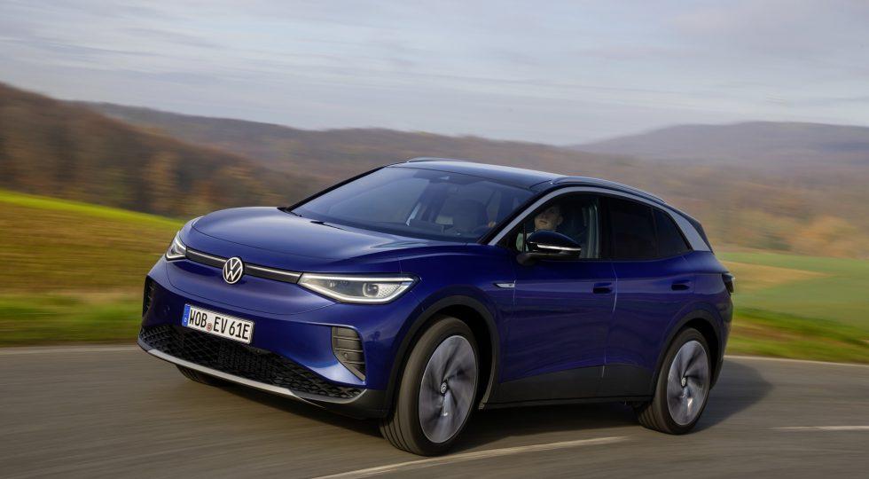 Al volante del Volkswagen ID.4, un SUV eléctrico racional