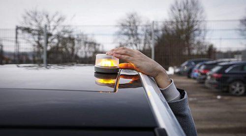 Cinco luces V-16 para sustituir los triángulos de emergencia