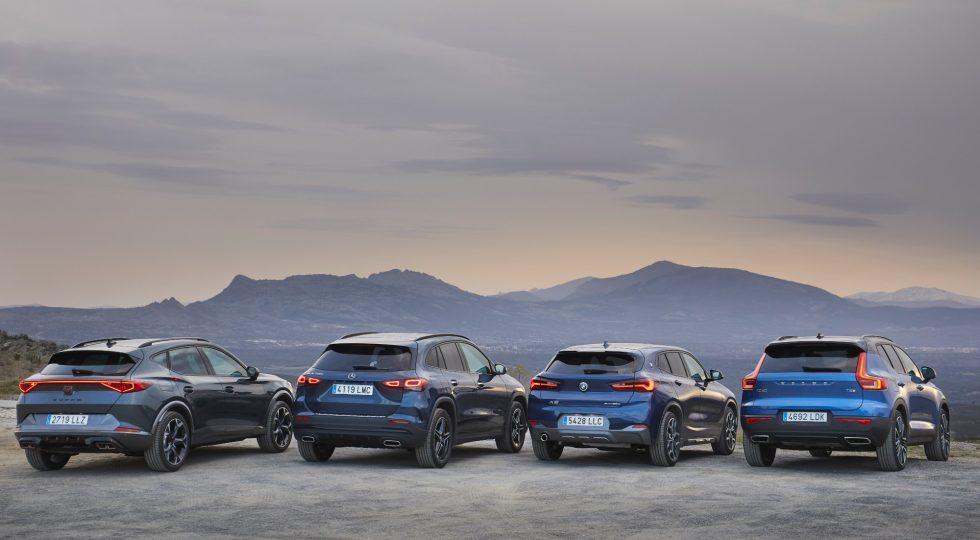 Comparativa: cuatro SUV con etiqueta Cero, en imágenes