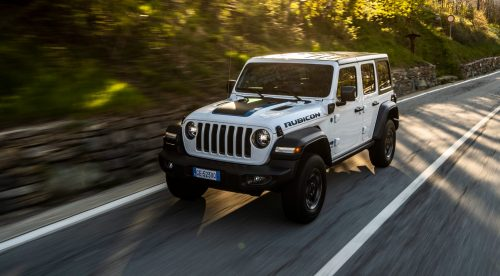 El mítico Jeep Wrangler, ahora híbrido enchufable