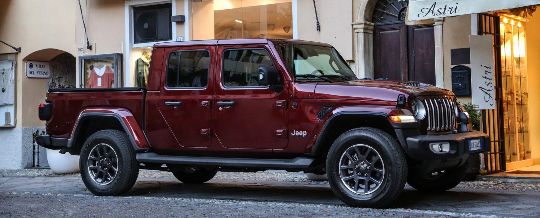 Jeep Gladiator: un Wrangler enorme y 'pick-up'