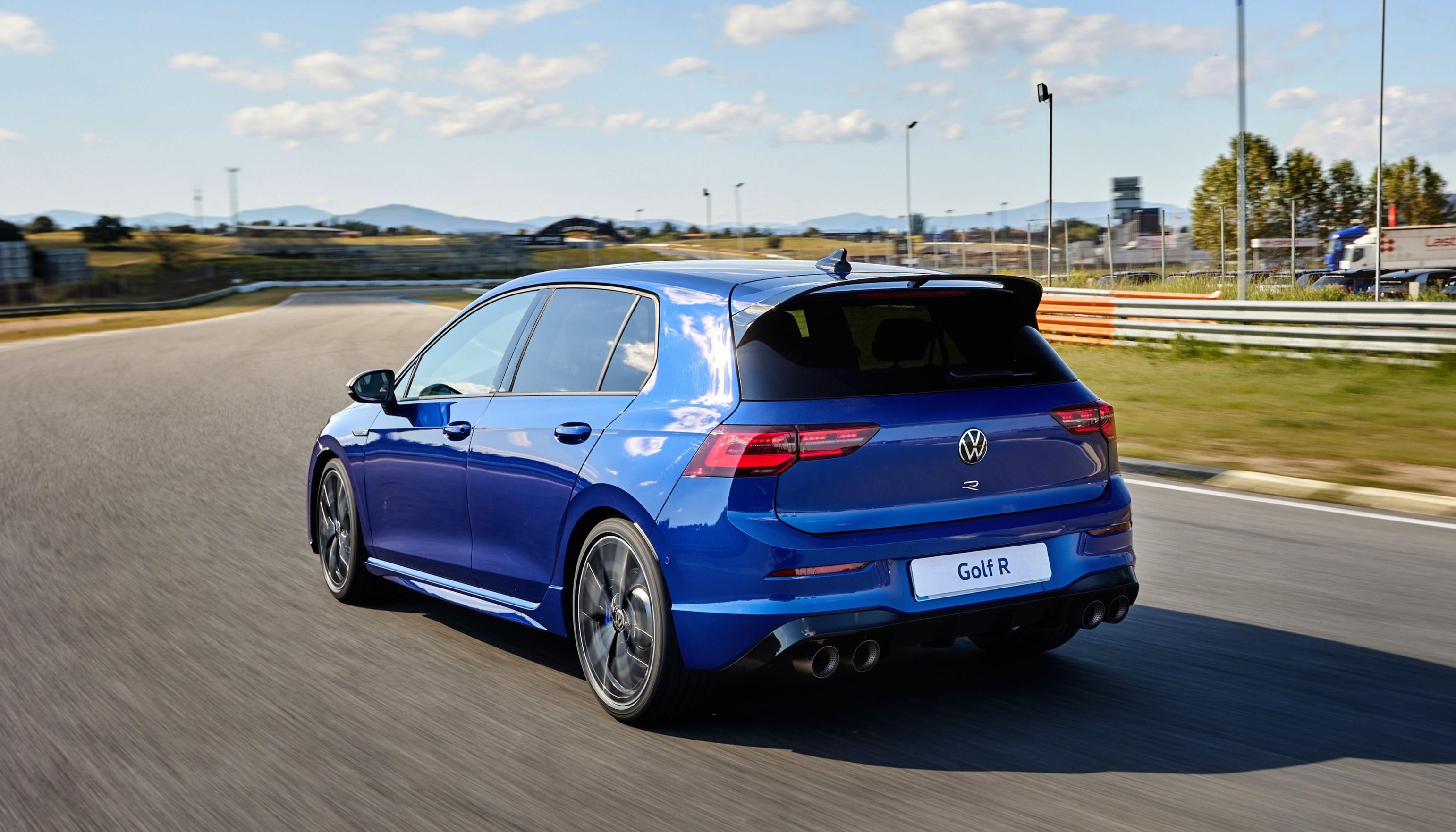 VW Golf 8 R con el paquete R-Performance.