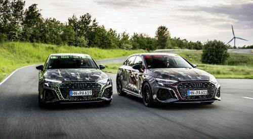 Nuevo Audi RS3: igual de potente, pero con más empuje y listo para derrapar