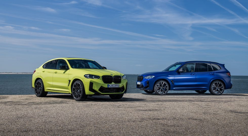 BMW X3 M Competition y X4 M Competition