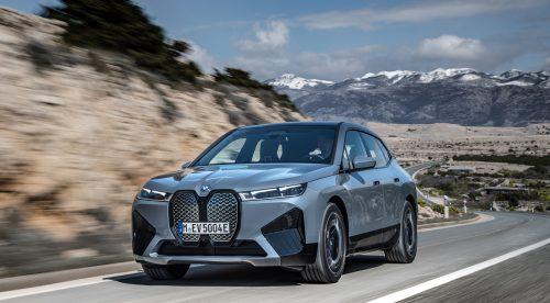 El nuevo BMW iX es el SUV eléctrico grande con mayor autonomía