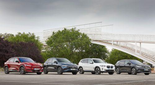 Cuatro SUV eléctricos de primera: ¿cuál es el mejor?