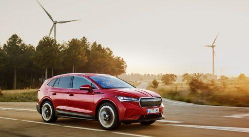 Skoda Enyaq, un SUV eléctrico popular con refinamiento 'premium'