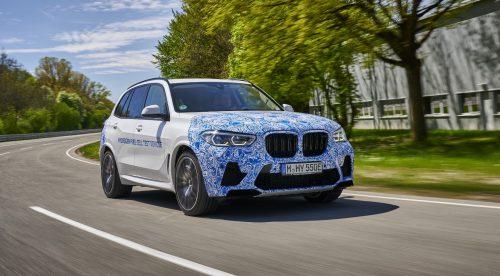 BMW empieza las pruebas de su primer coche de hidrógeno