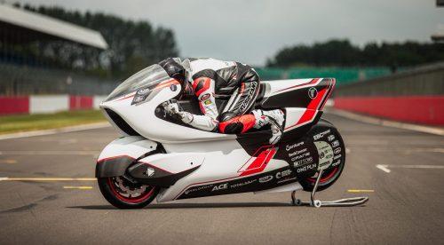La moto eléctrica que quiere alcanzar los 400 km/h