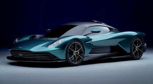 El Aston Martin Valhalla es un superdeportivo híbrido enchufable de 950 CV