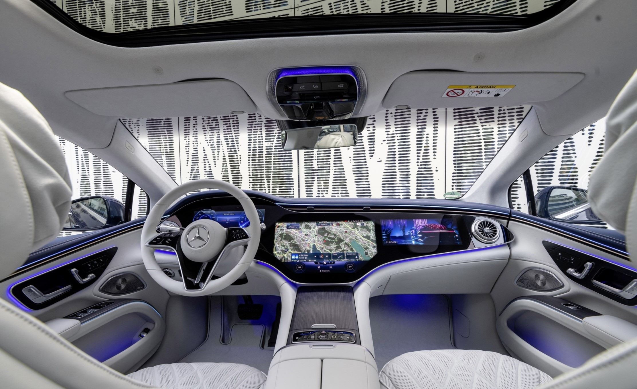 El nuevo Mercedes EQS, al detalle