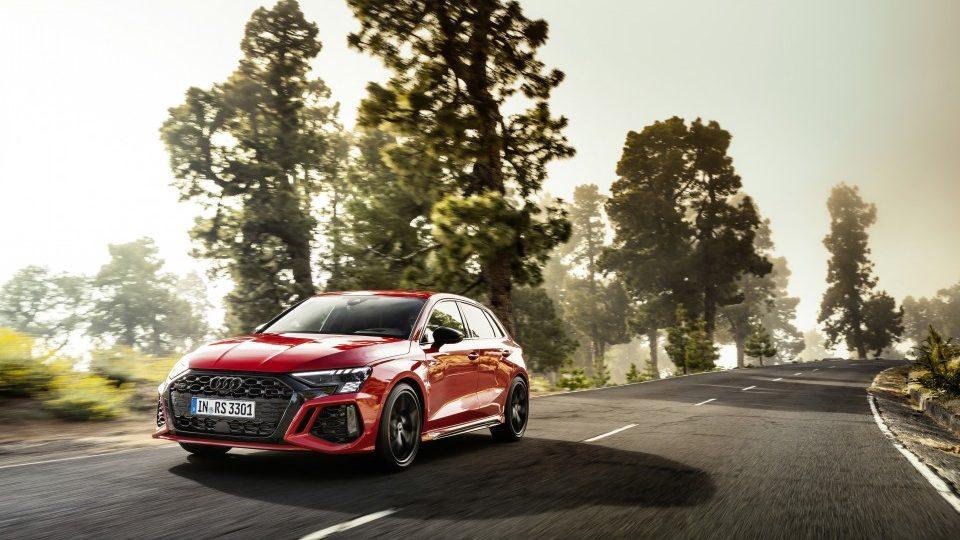 El nuevo Audi RS 3, en imágenes