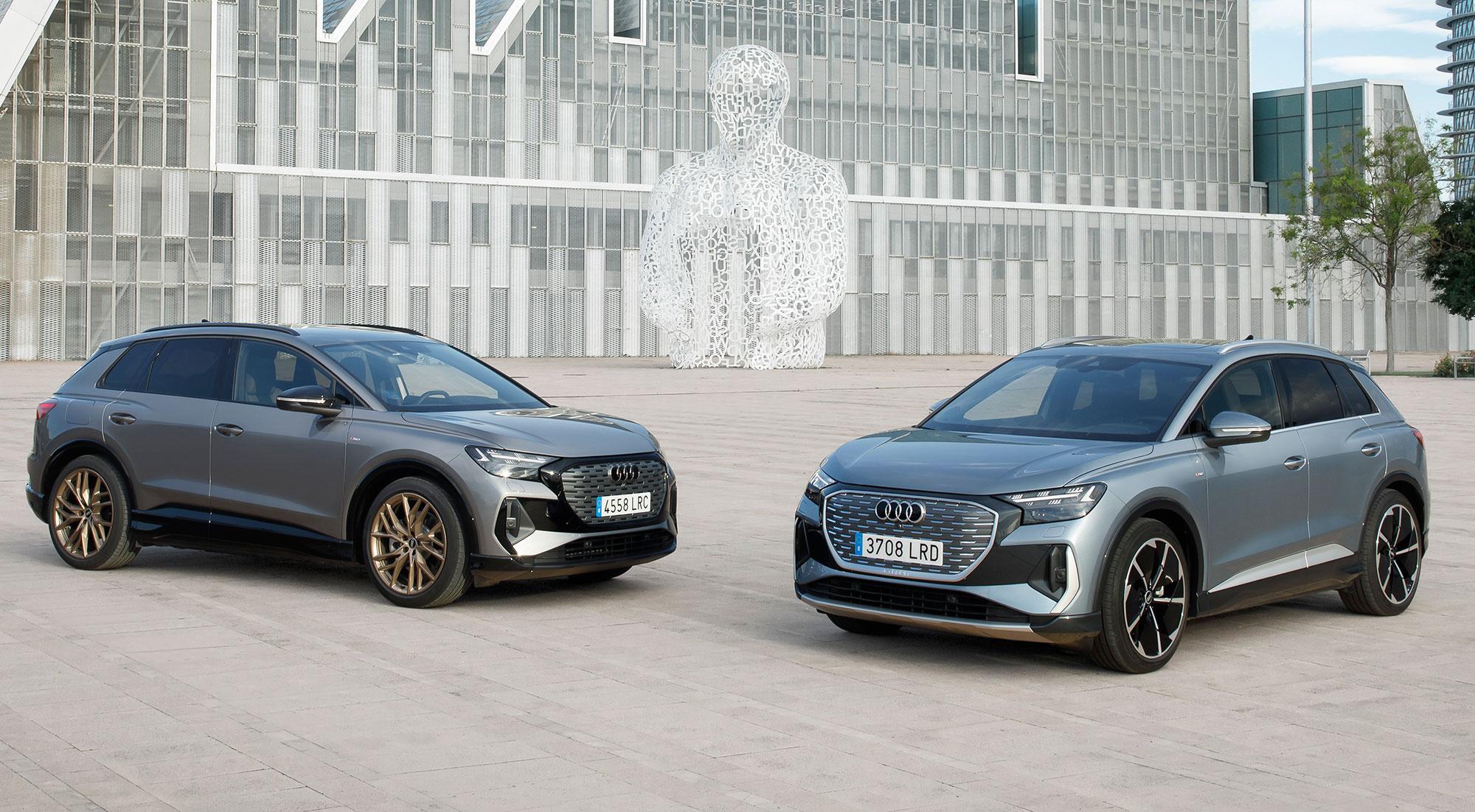 Las mejores imágenes del Audi Q4 e-tron