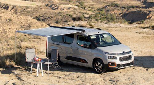 Citroën Berlingo by Tinkervan, una furgoneta camper asequible