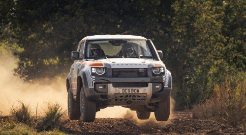 El Land Rover Defender se convierte en un coche de rallies