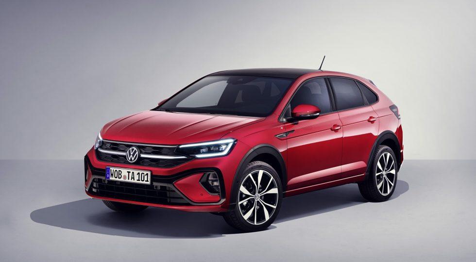 Volkswagen nuevo taigo rojo