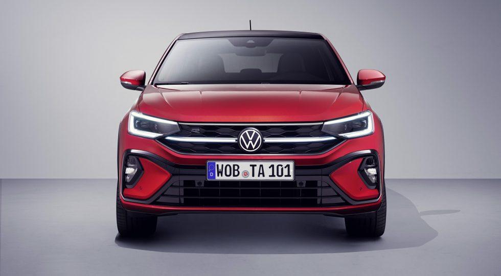 Volkswagen Taigo rojo