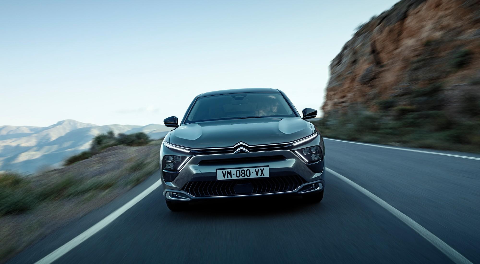 Las mejores imágenes del Citroën C5-X