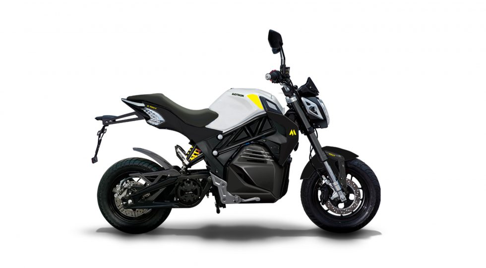 Motron Vizion: una mini moto eléctrica que no es tan mini