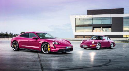 Más tecnología y nuevos colores para el Porsche Taycan