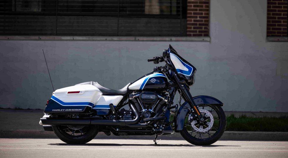 Harley: Street Glide Arctic Blast Limited Edition