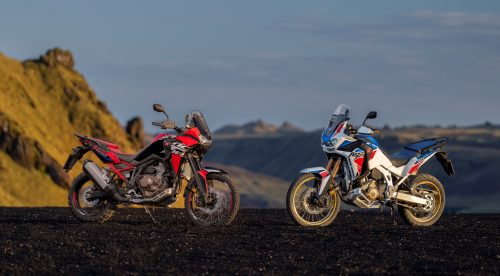 Honda actualiza la Africa Twin, su popular moto 'trail'
