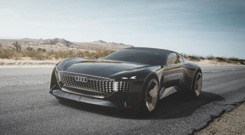 Audi skysphere concept, el coche que cambia de tamaño
