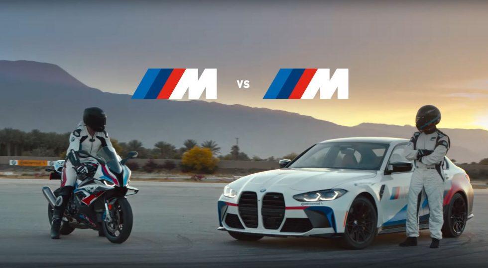 BMW M 1000 RR y M3