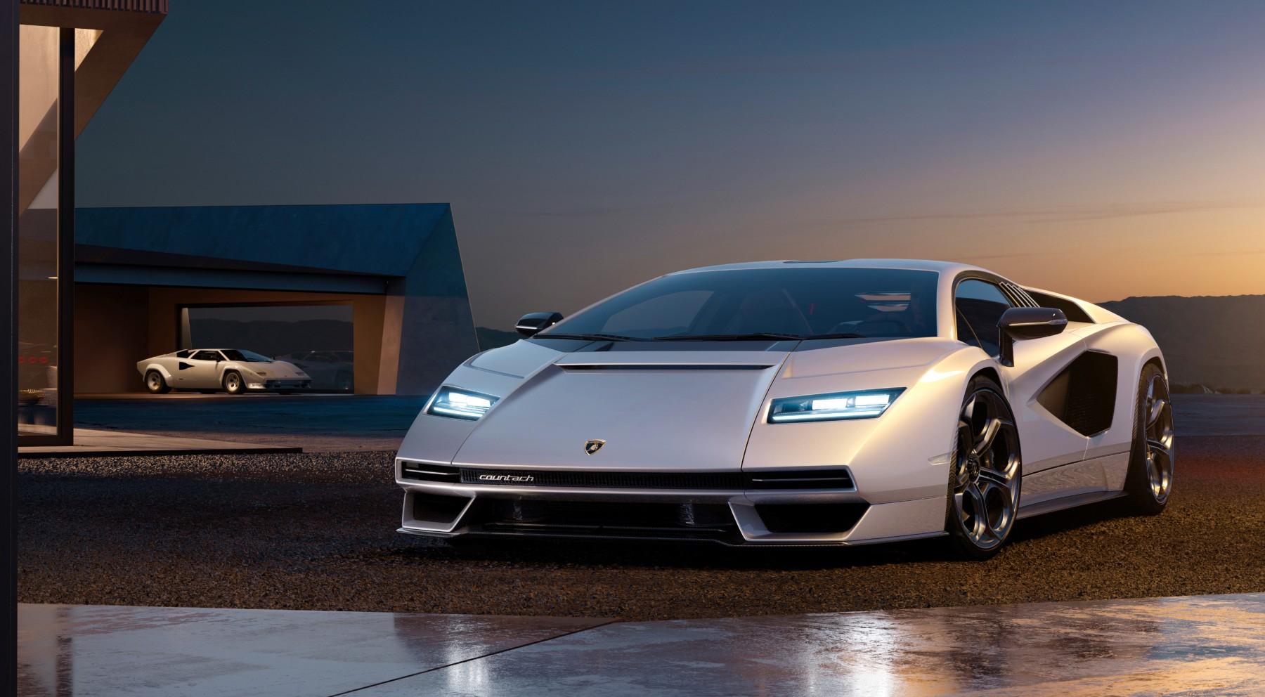 Todas las imágenes del nuevo Lamborghini Countach