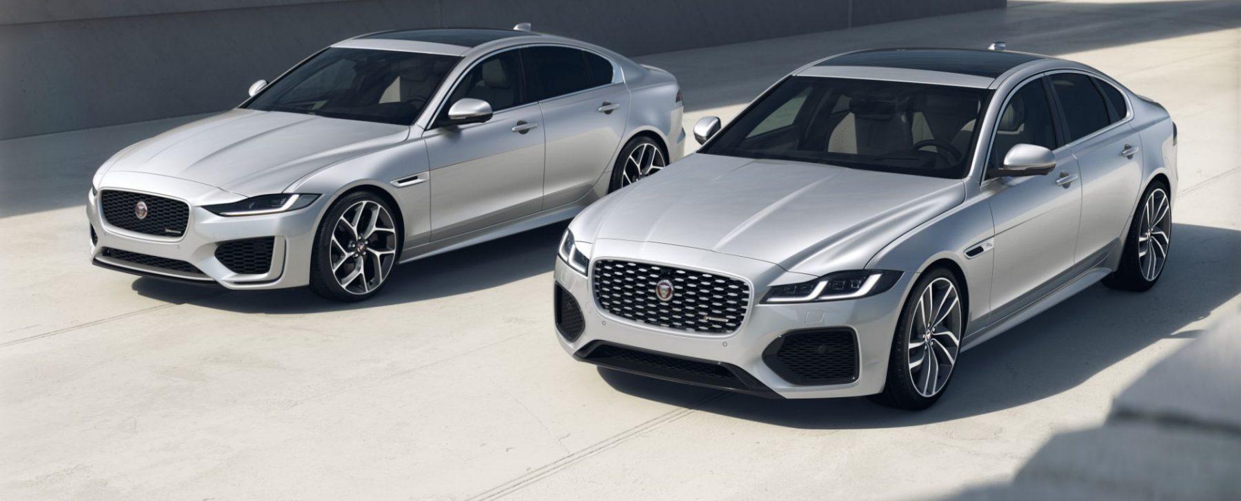 Jaguar XE y Jaguar XF