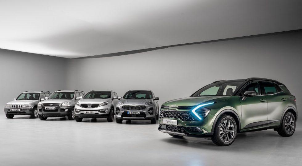 El nuevo Kia Sportage 2022