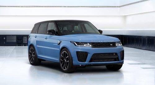 El Range Rover Sport SVR estrena una serie especial
