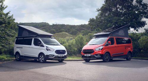 Ford lanza nuevas versiones camper en su Transit Nugget