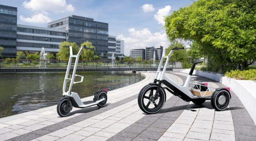 BMW presenta dos nuevos patinetes eléctricos
