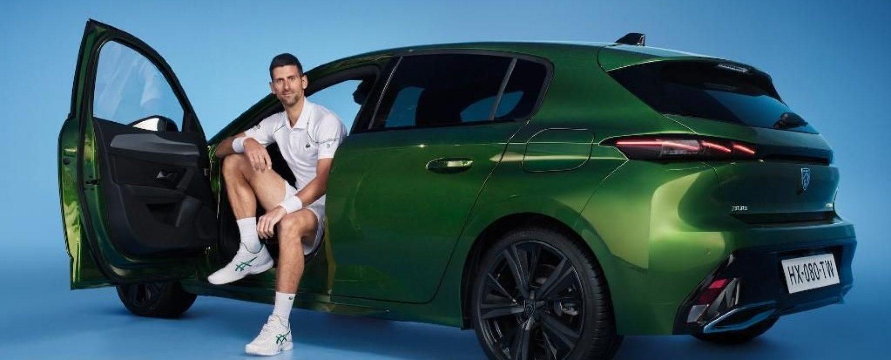Djokovic y Peugeot, una larga colaboración