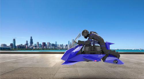 The Speeder, la alucinante moto voladora que es real