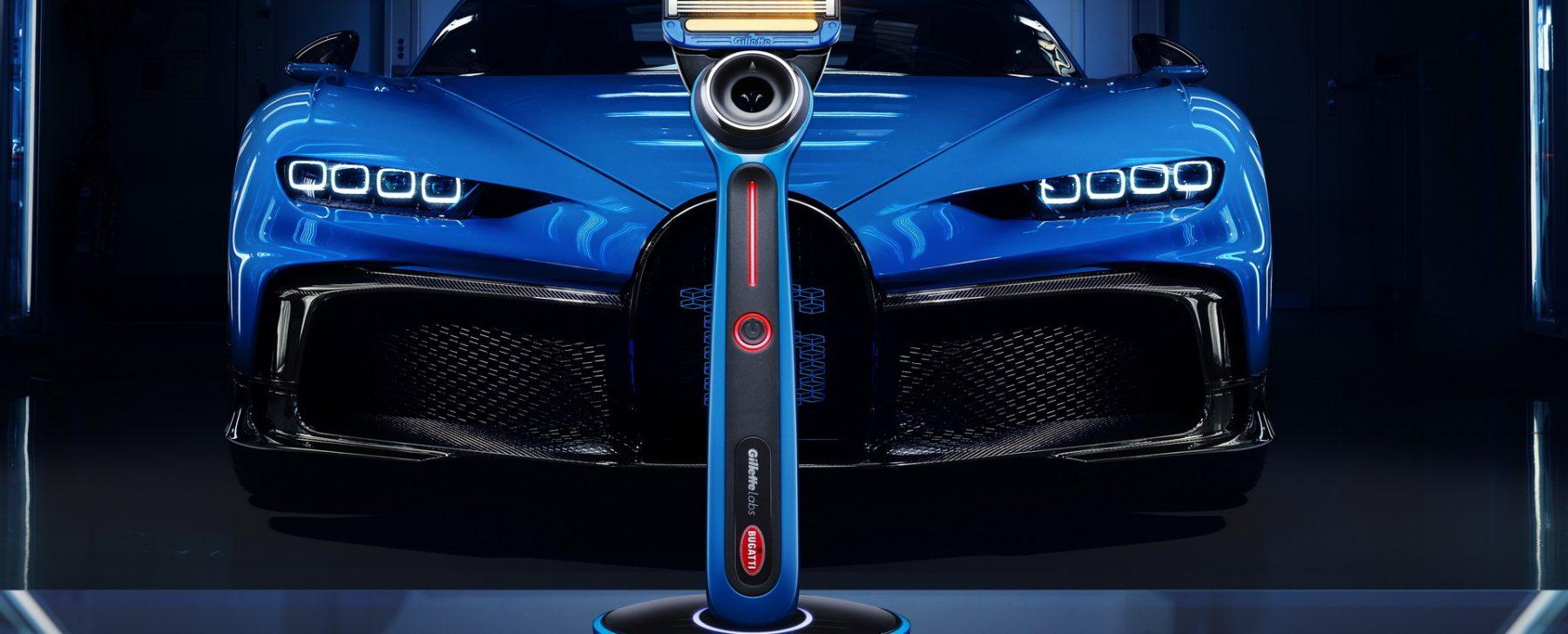 Gillette Heated Razor Bugatti