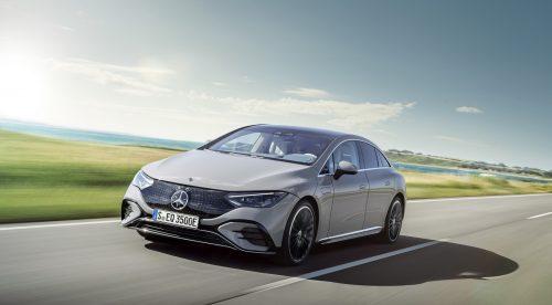 El Mercedes EQE se presenta con 660 kilómetros de autonomía