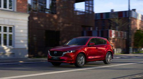 El renovado Mazda CX-5 da un paso adelante