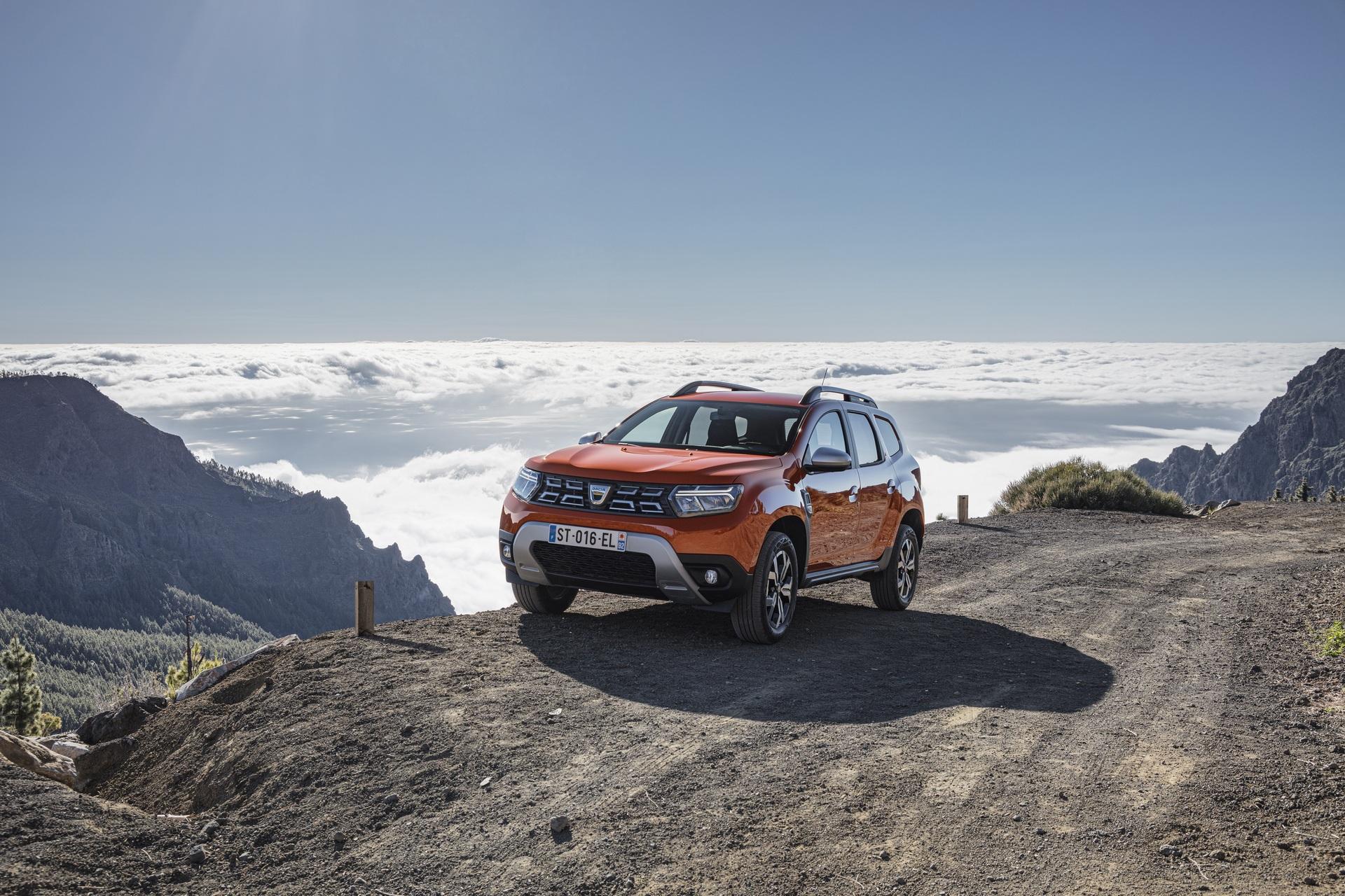 Todas las imágenes del renovado Dacia Duster