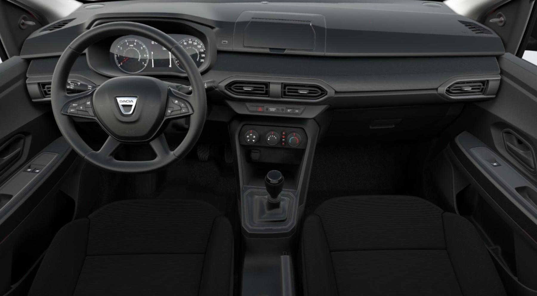Interior coche más barato