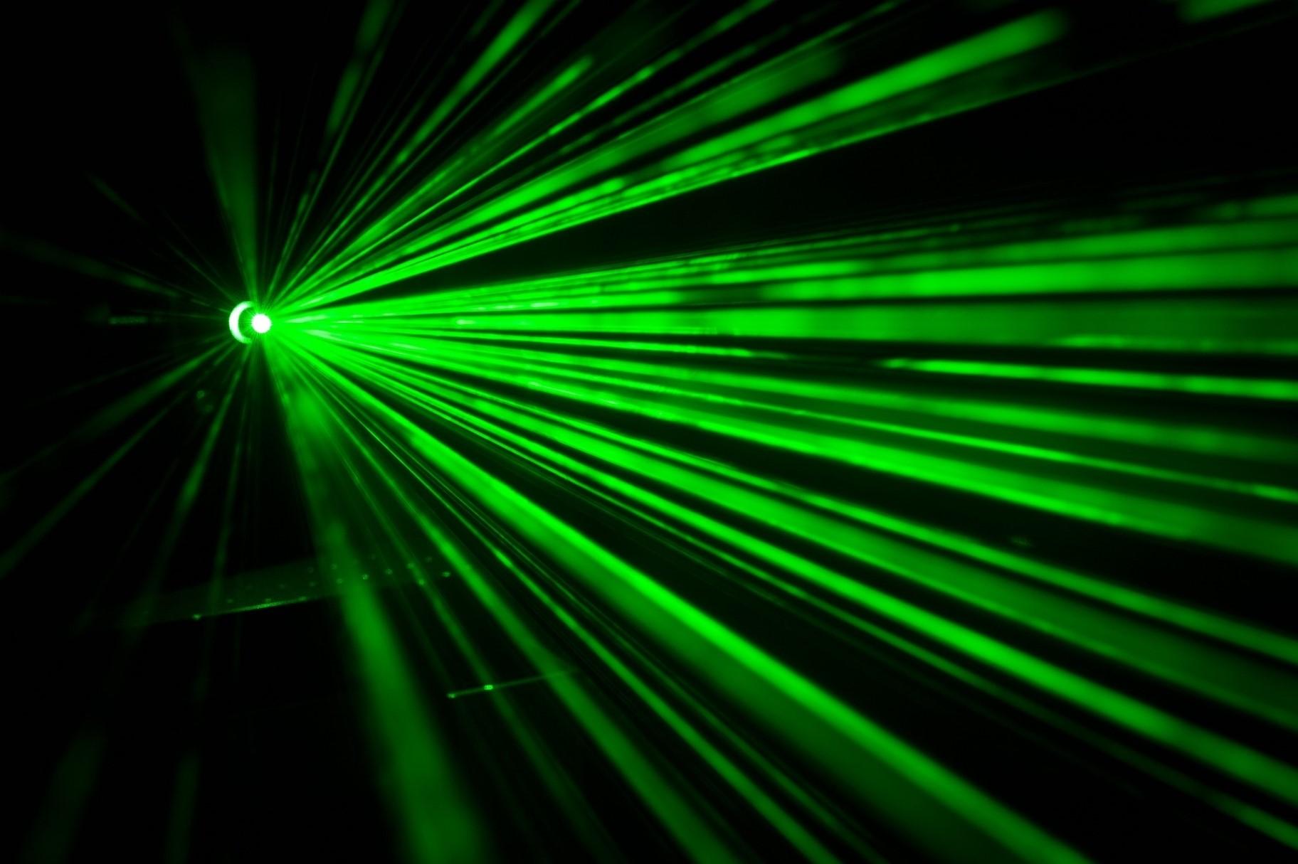Laser cristales de los coches