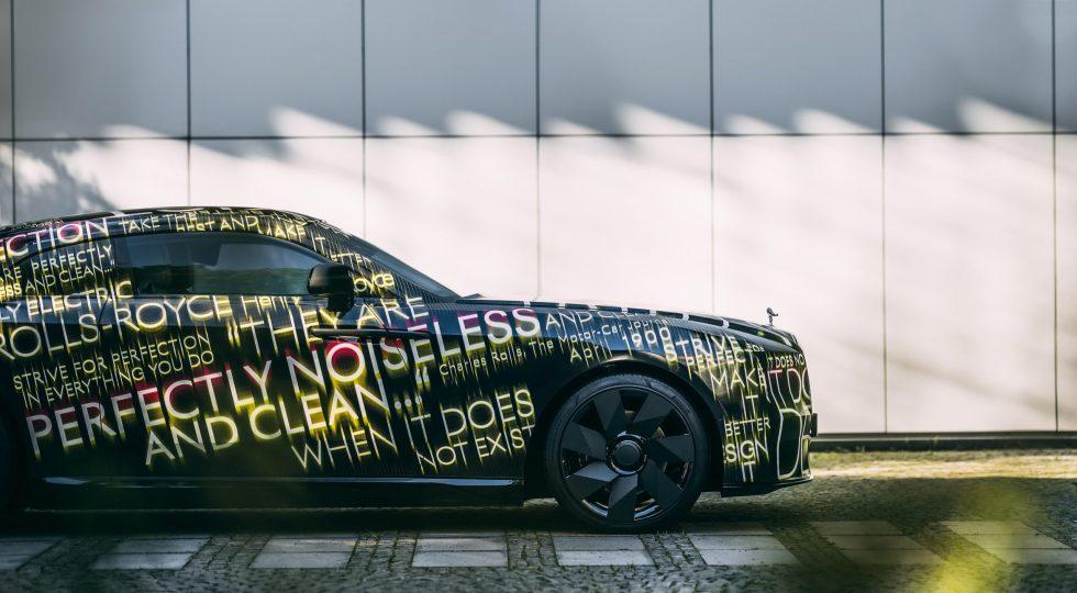 El primer Rolls-Royce de baterías se llamará Spectre