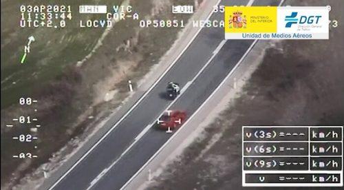A la DGT le preocupan las temeridades de los motoristas