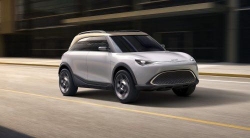 Smart anticipa su futuro SUV eléctrico con el Concept #1