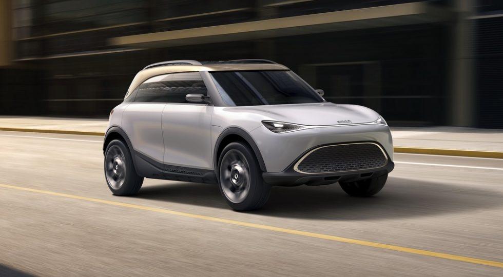 El SUV de Smart será el modelo más grande de la marca.
